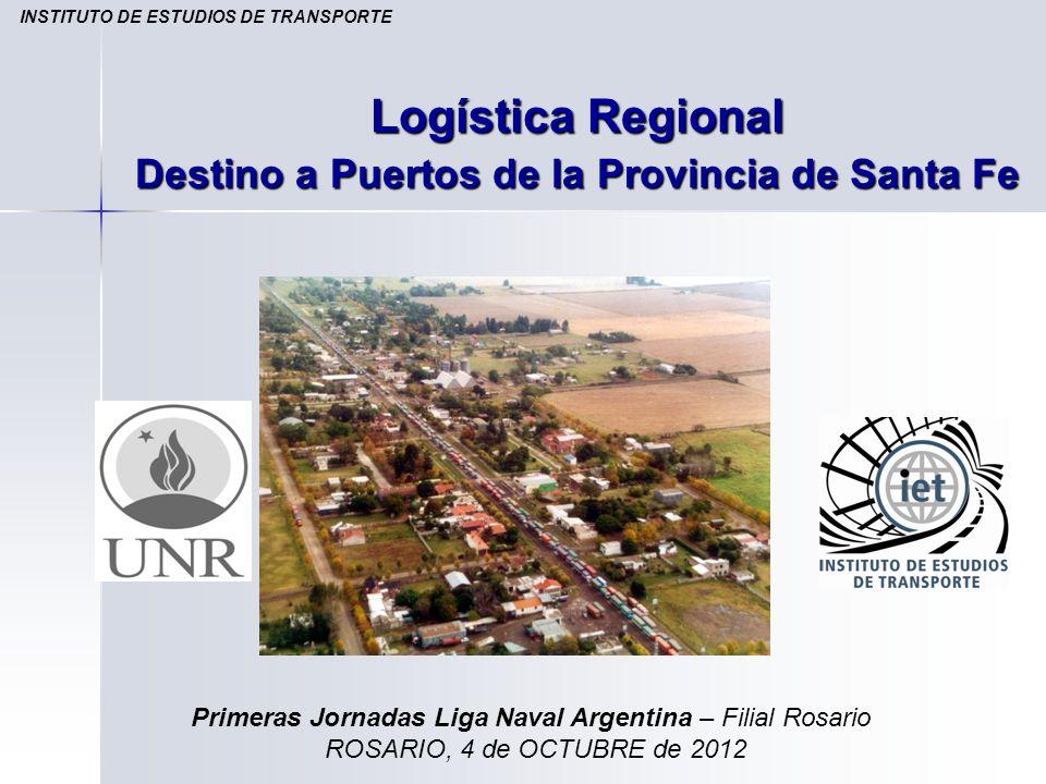 Logística Regional Destino a Puertos de la Provincia de Santa Fe