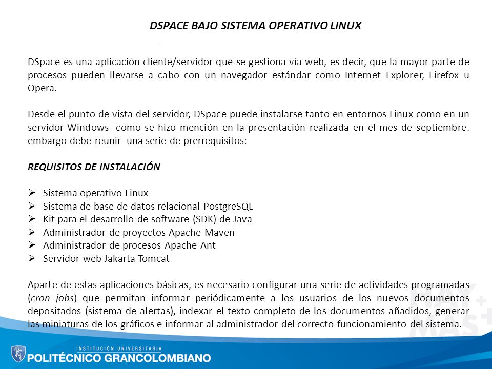 DSPACE BAJO SISTEMA OPERATIVO LINUX