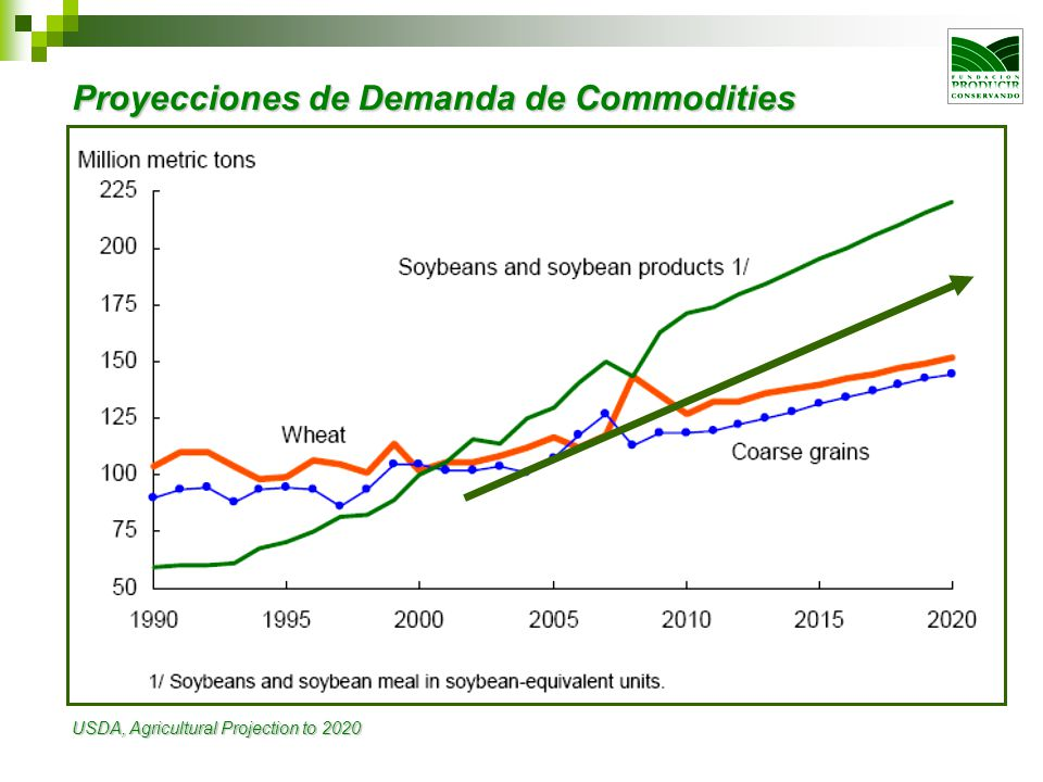 Proyecciones de Demanda de Commodities