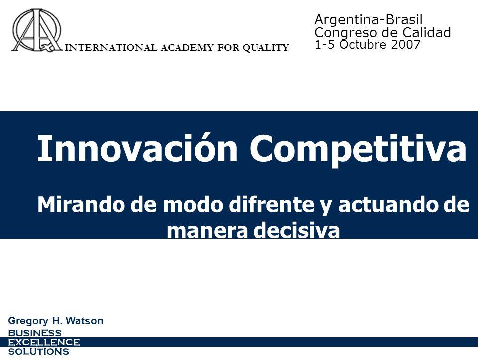 Innovación Competitiva