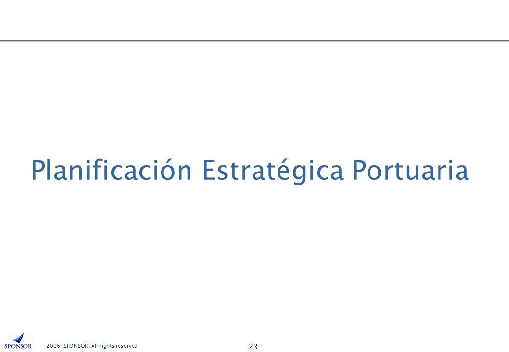 Planificación Estratégica Portuaria