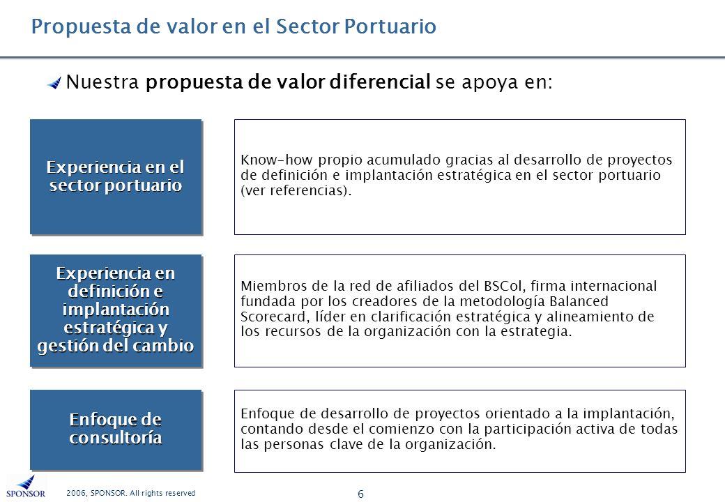 Propuesta de valor en el Sector Portuario