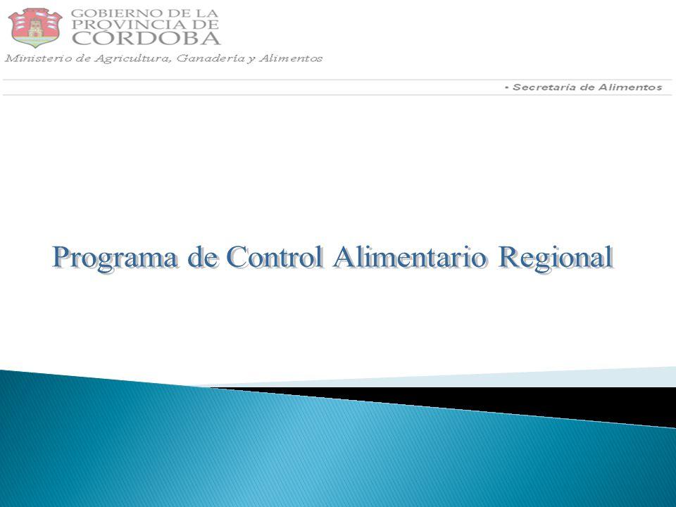 Programa de Control Alimentario Regional