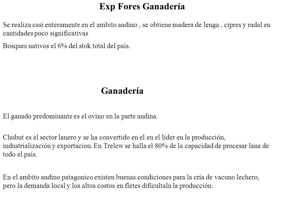 Exp Fores Ganadería Ganadería