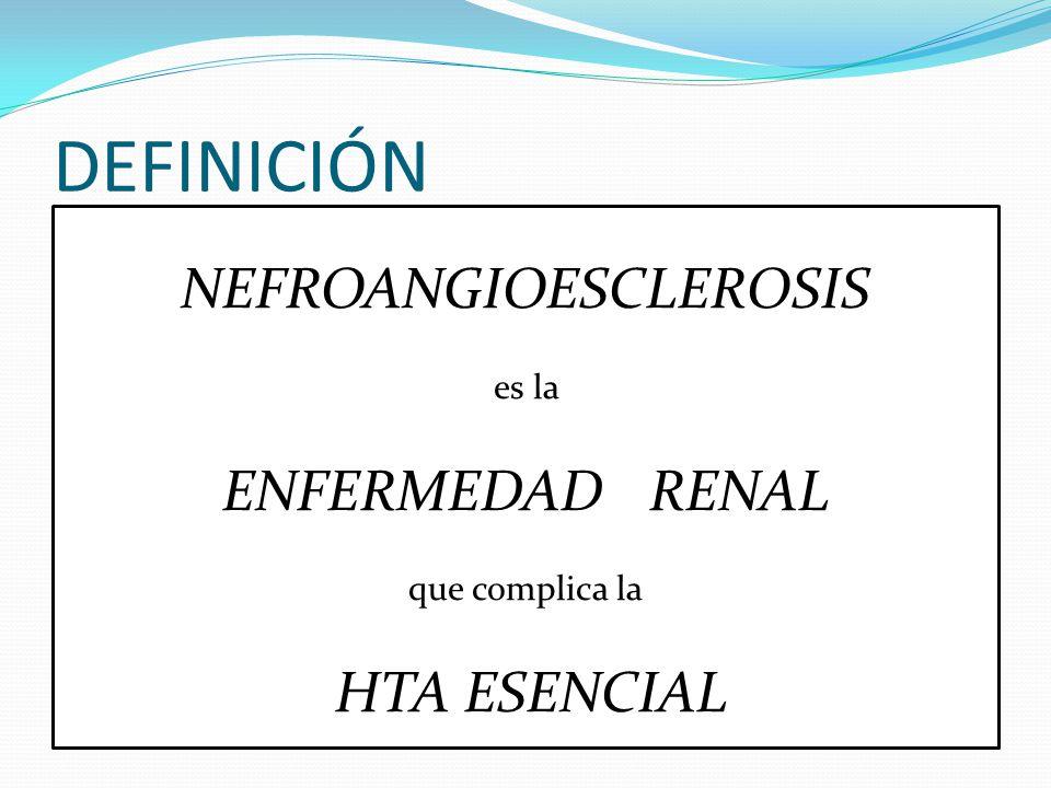 NEFROANGIOESCLEROSIS