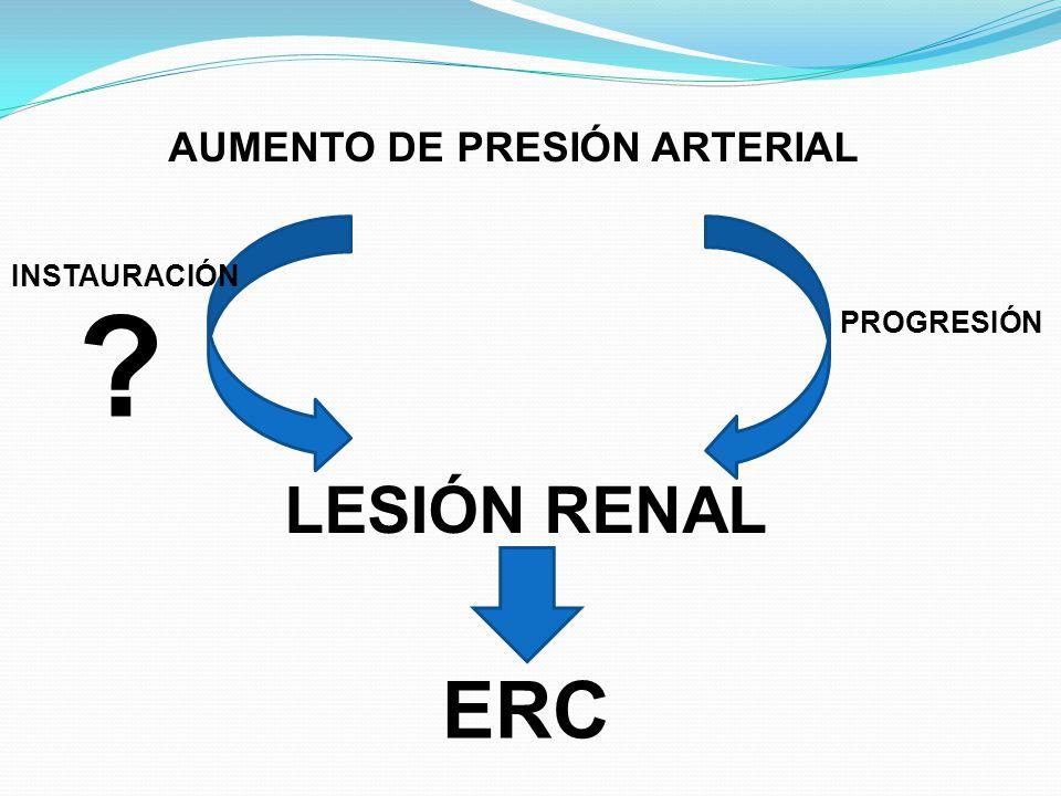 AUMENTO DE PRESIÓN ARTERIAL