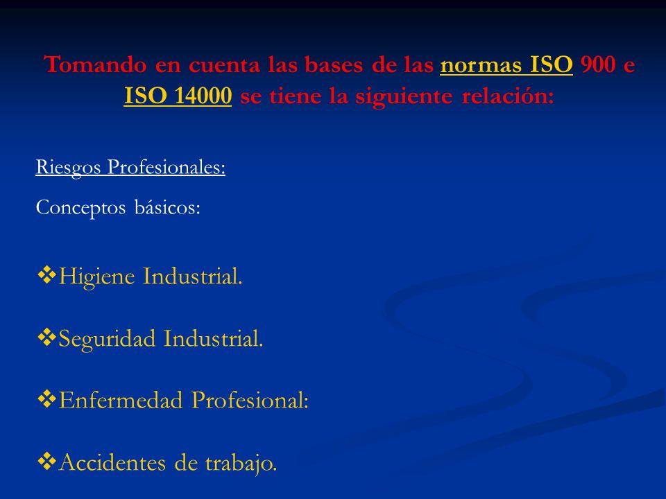 Enfermedad Profesional: Accidentes de trabajo.