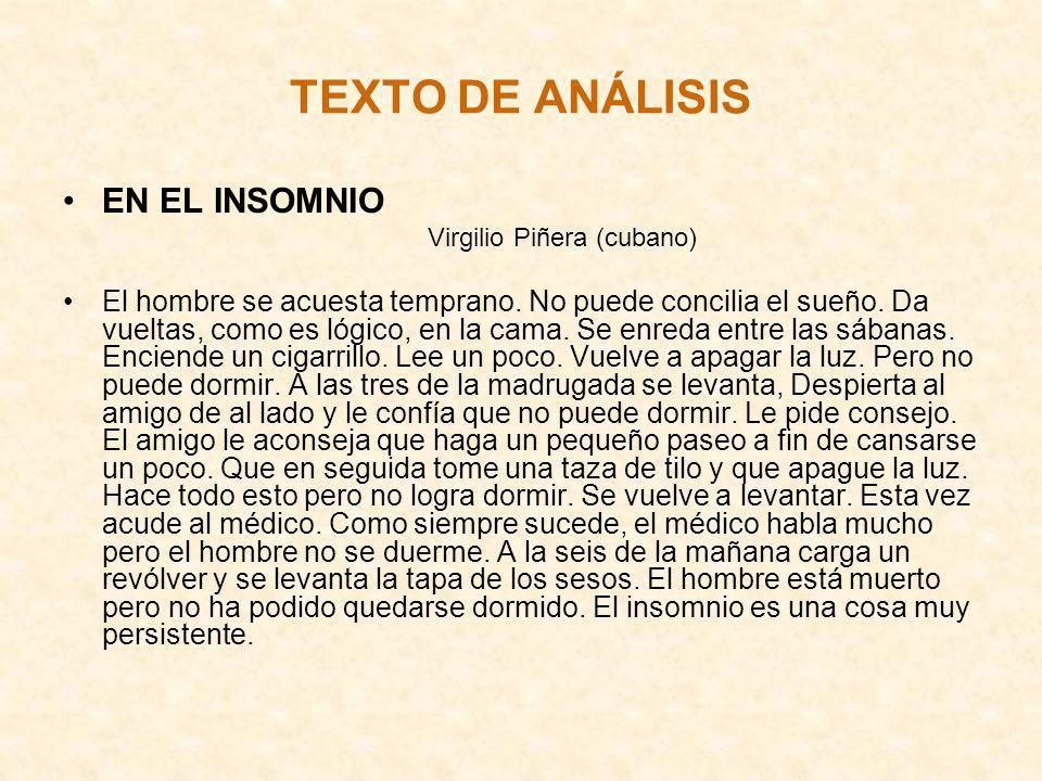 TEXTO DE ANÁLISIS EN EL INSOMNIO