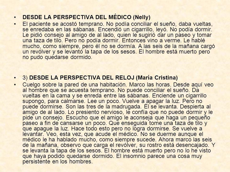 DESDE LA PERSPECTIVA DEL MÉDICO (Nelly)