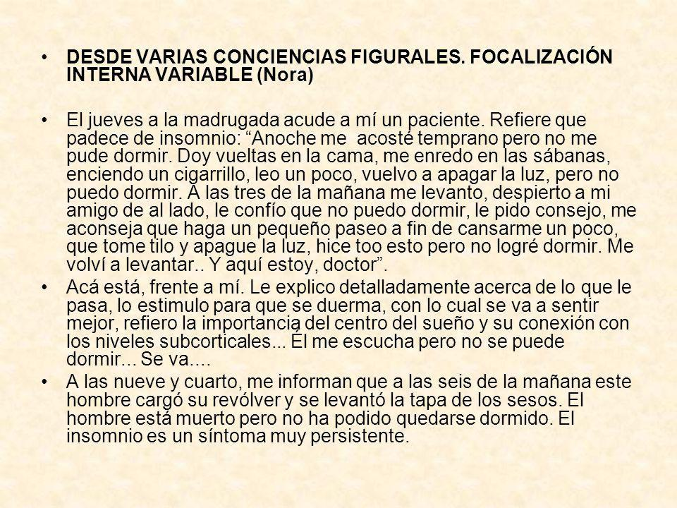 DESDE VARIAS CONCIENCIAS FIGURALES