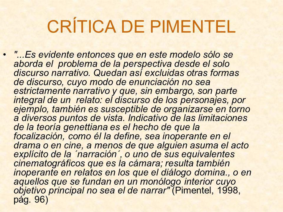 CRÍTICA DE PIMENTEL