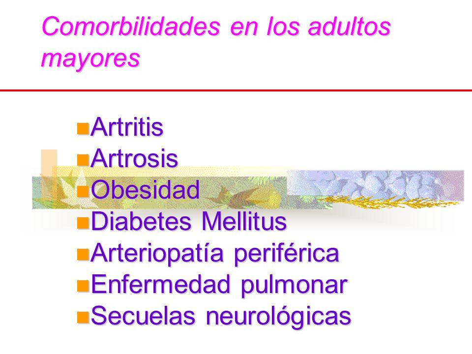Comorbilidades en los adultos mayores