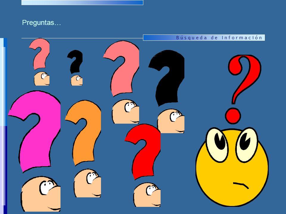 Preguntas…