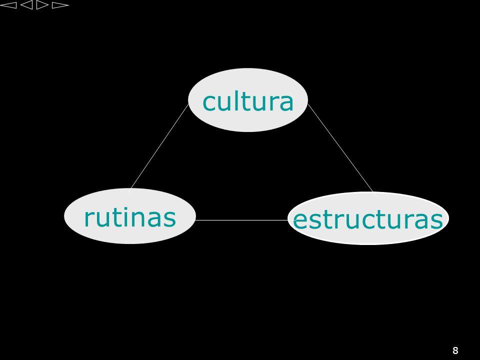 cultura rutinas estructuras