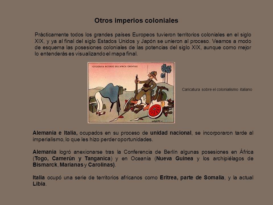 Otros imperios coloniales