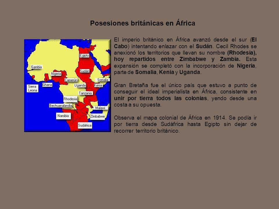 Posesiones británicas en África