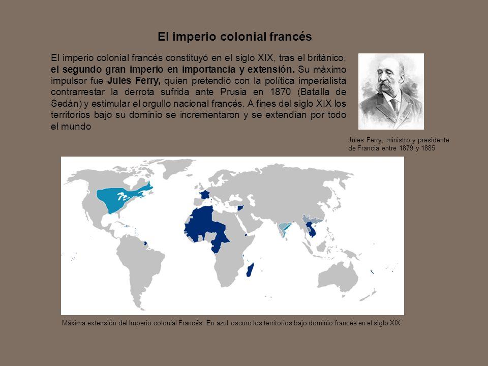 El imperio colonial francés