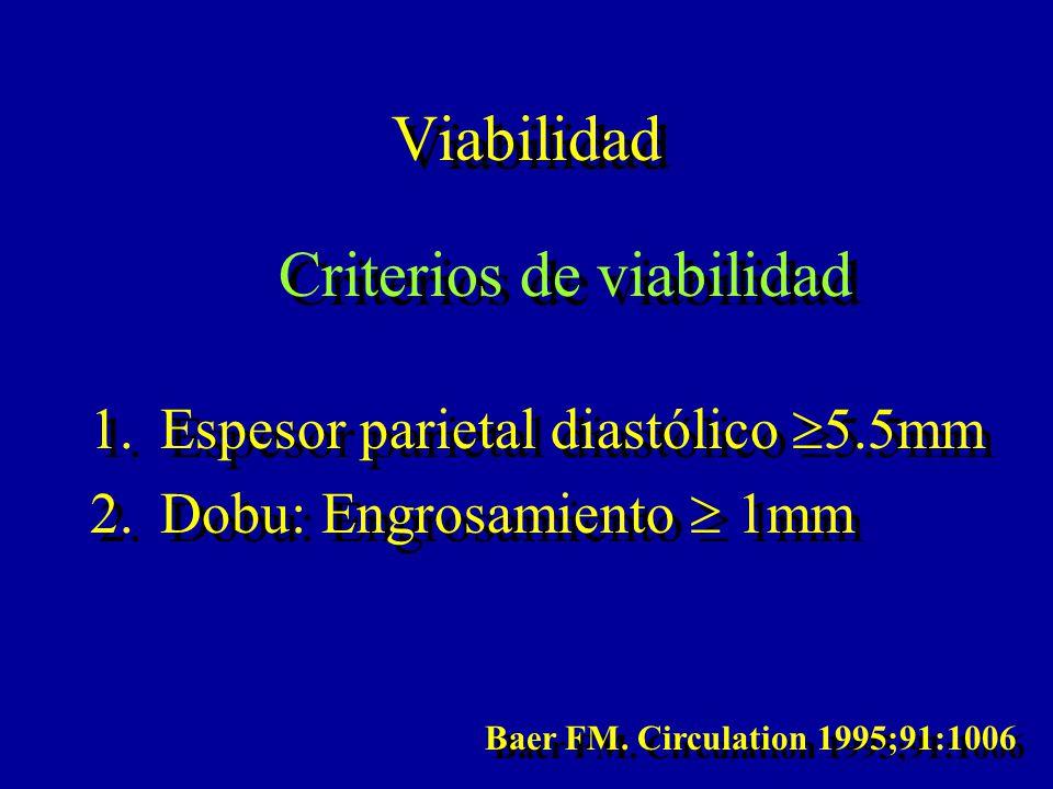 Criterios de viabilidad