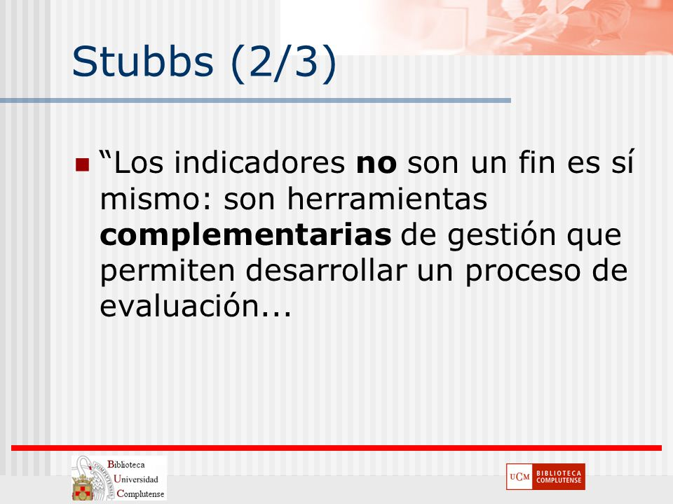Stubbs (2/3)