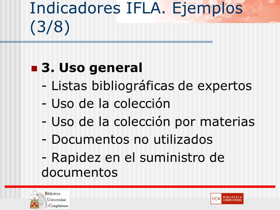 Indicadores IFLA. Ejemplos (3/8)