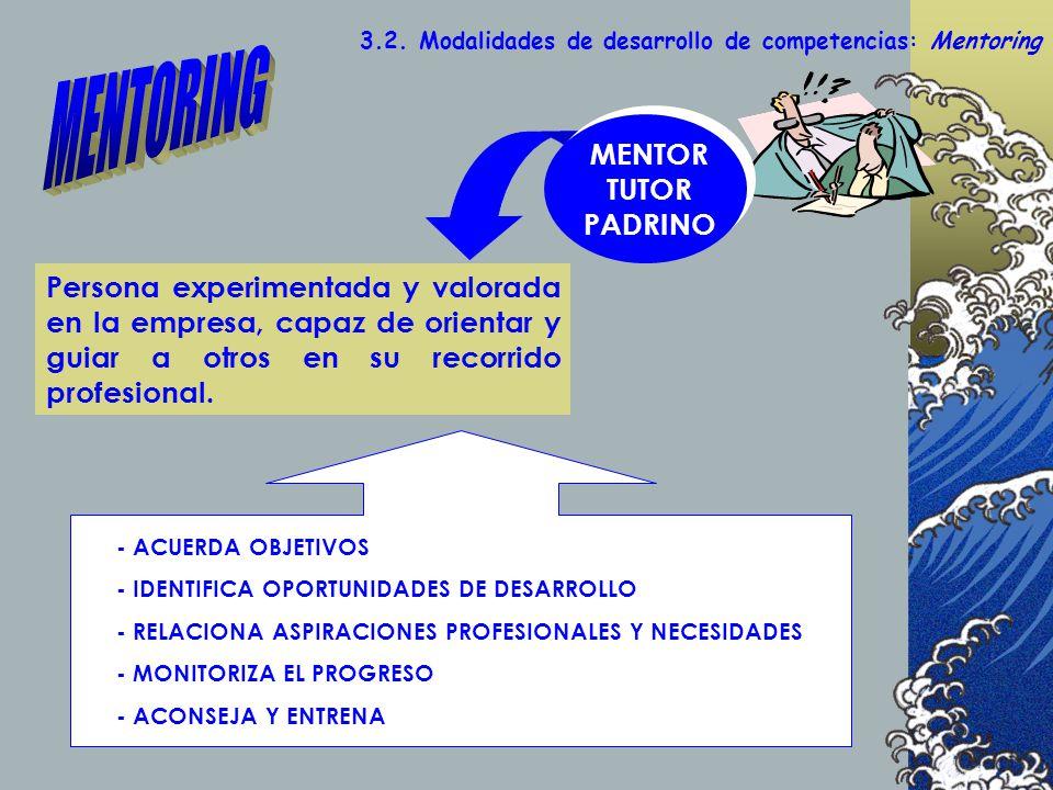 MENTORING MENTOR TUTOR PADRINO