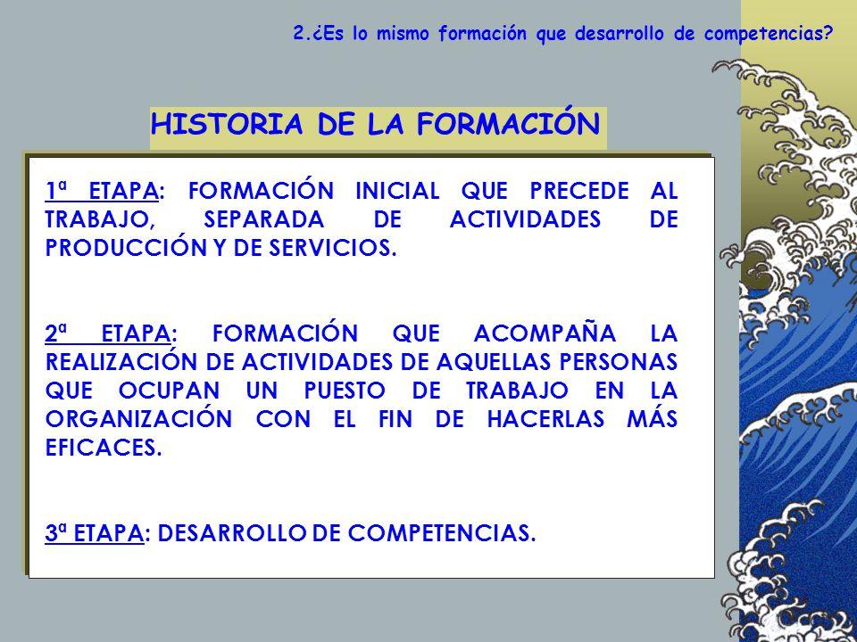 HISTORIA DE LA FORMACIÓN
