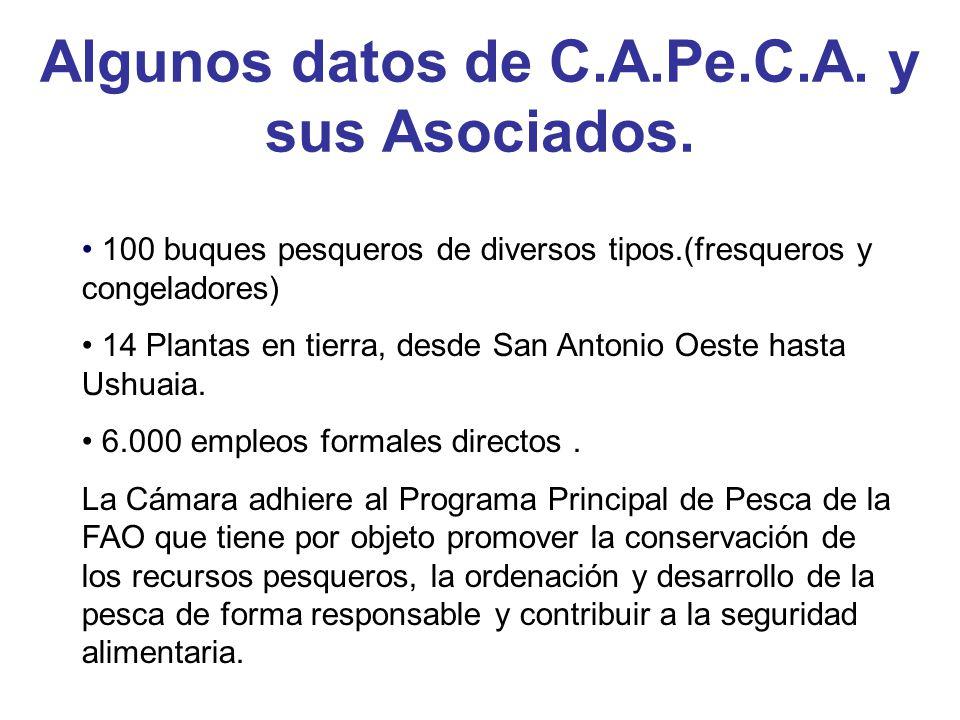 Algunos datos de C.A.Pe.C.A. y sus Asociados.