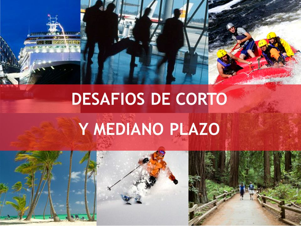 DESAFIOS DE CORTO Y MEDIANO PLAZO