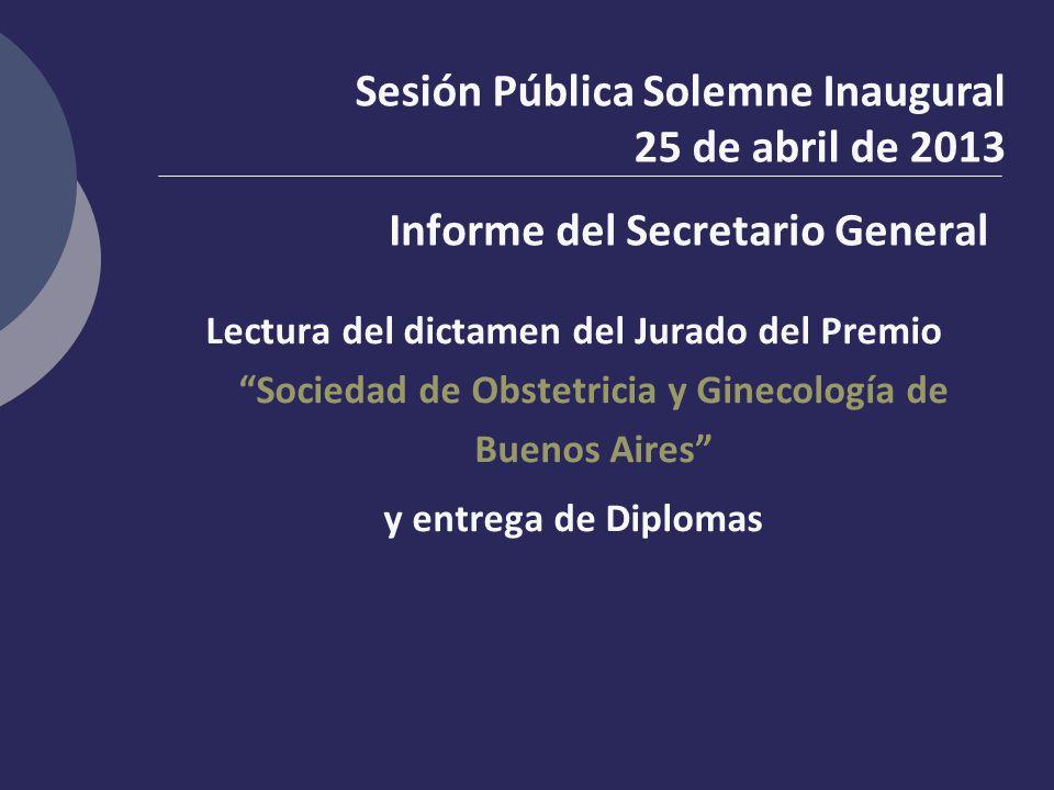 Informe del Secretario General