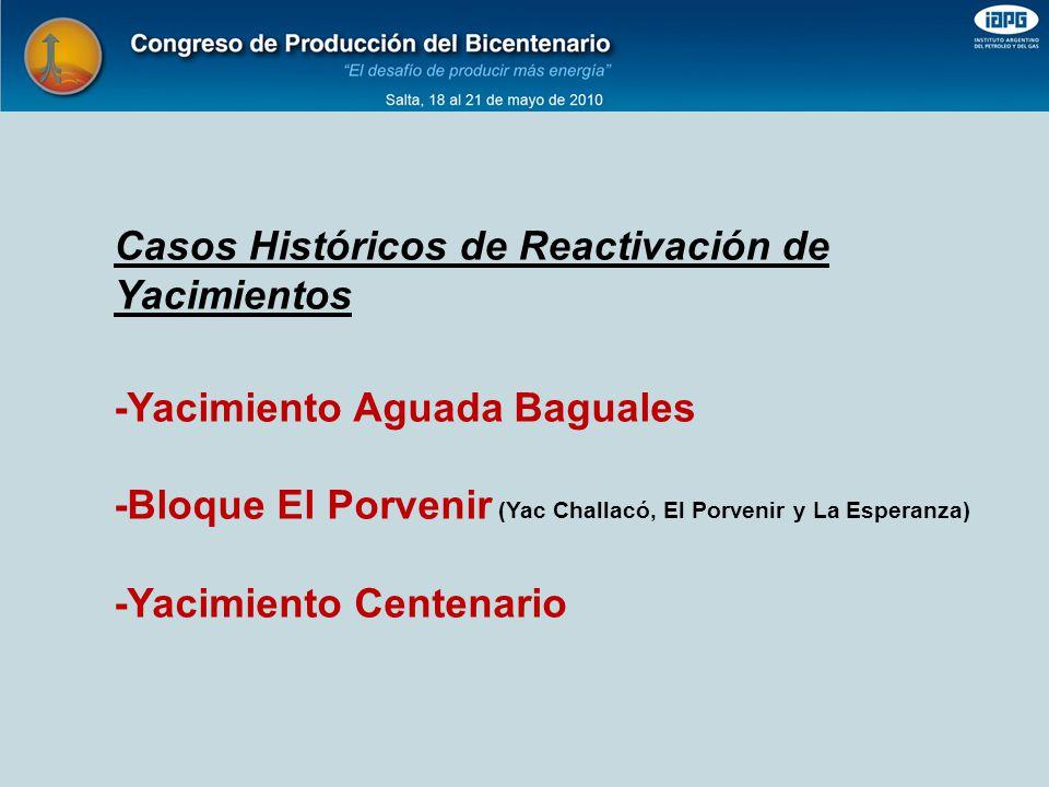Casos Históricos de Reactivación de Yacimientos