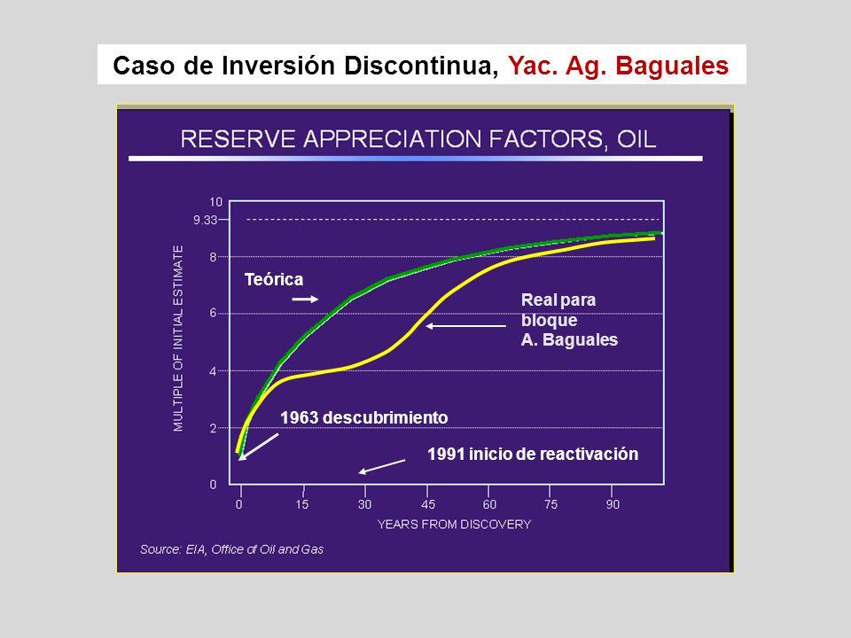 Caso de Inversión Discontinua, Yac. Ag. Baguales