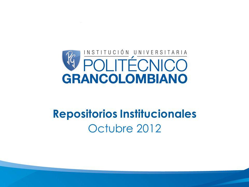 Repositorios Institucionales