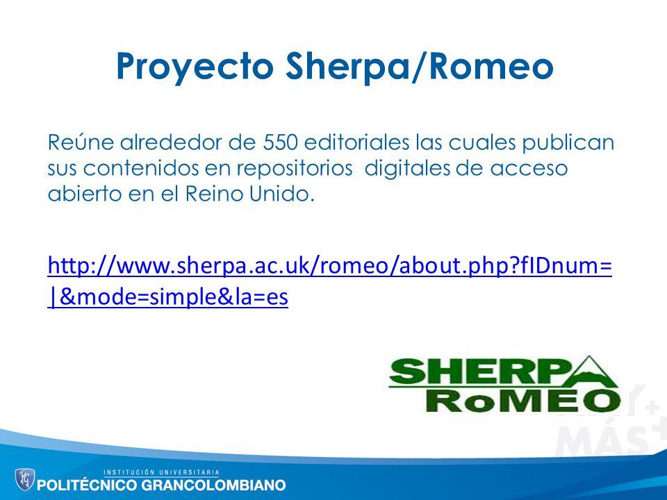 Proyecto Sherpa/Romeo