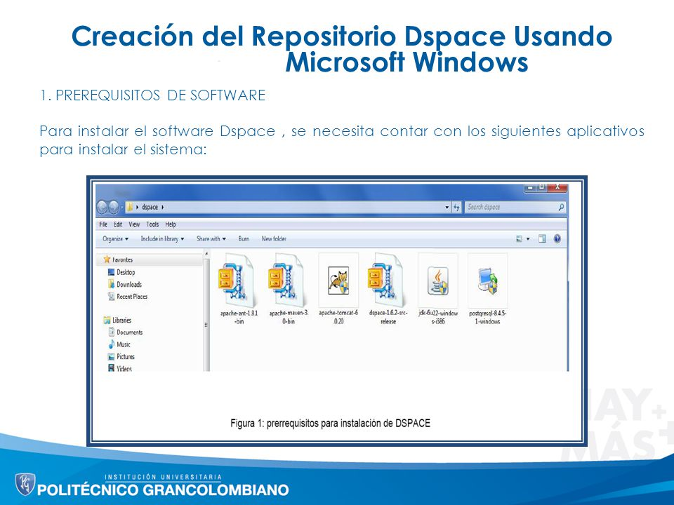 Creación del Repositorio Dspace Usando