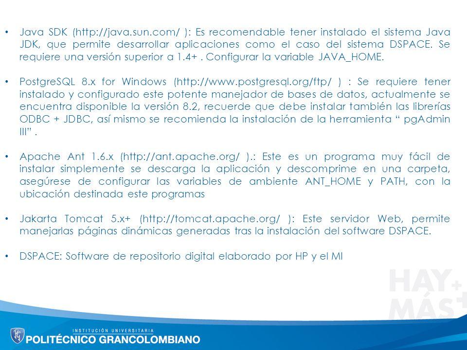 Java SDK (http://java. sun