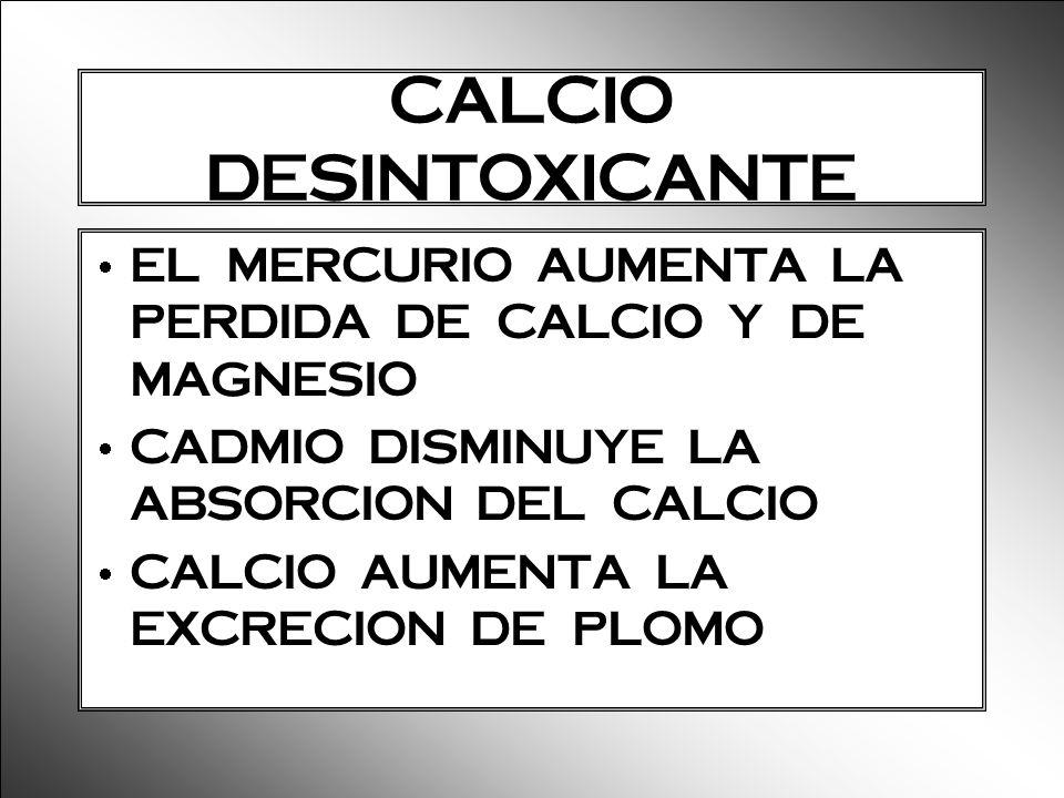 CALCIO DESINTOXICANTE