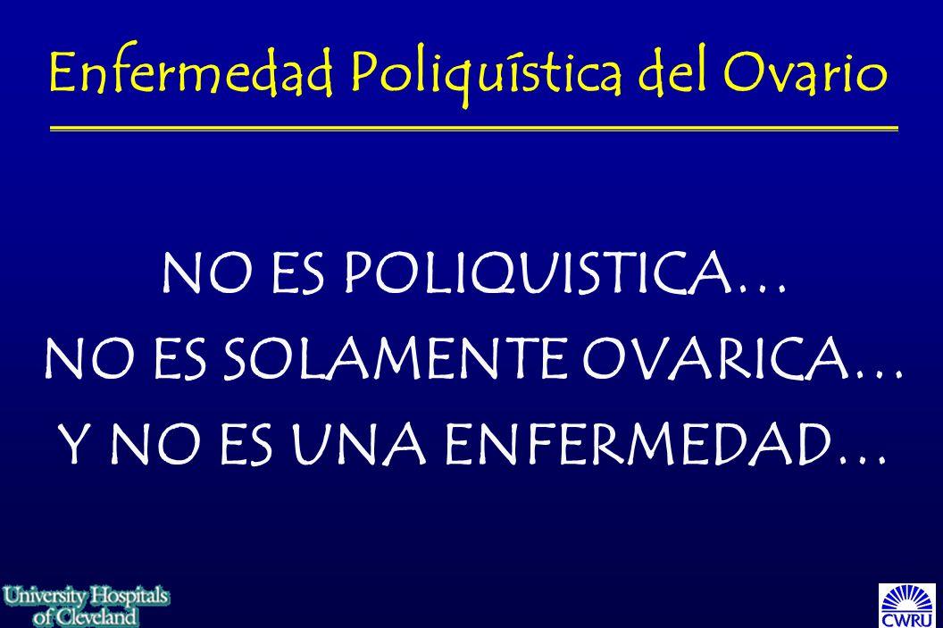 Enfermedad Poliquística del Ovario