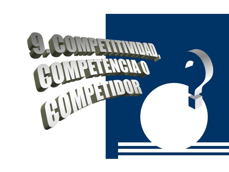 9. COMPETITIVIDAD, COMPETENCIA O COMPETIDOR