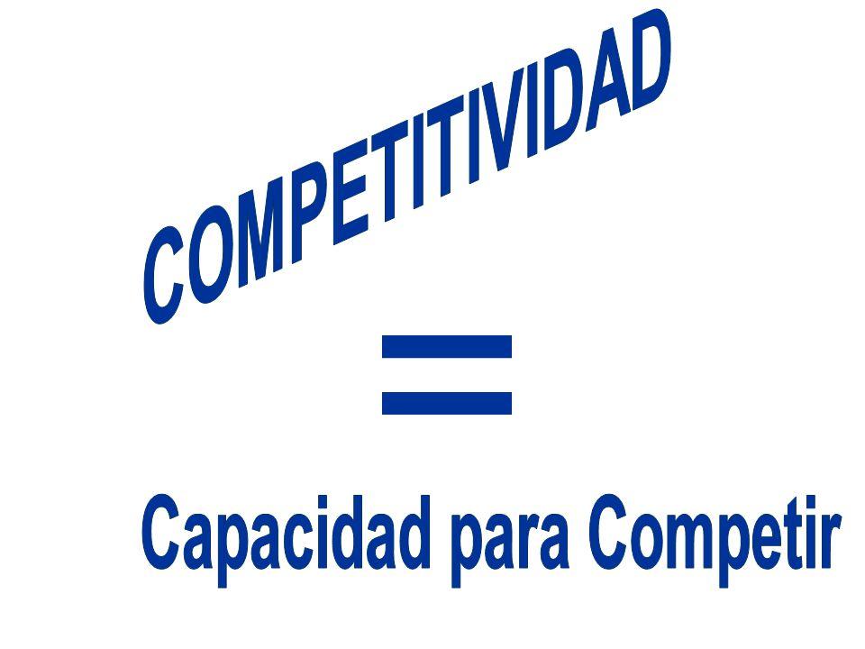 Capacidad para Competir