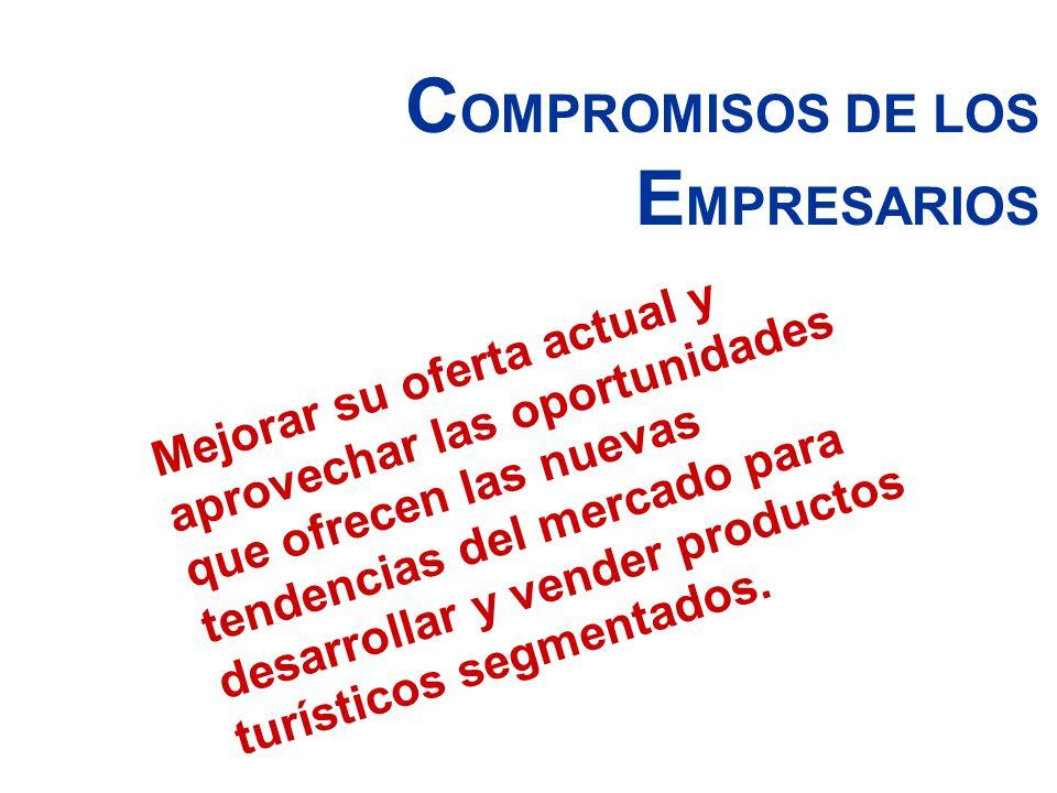 COMPROMISOS DE LOS EMPRESARIOS