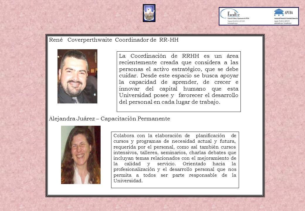 René Coverperthwaite Coordinador de RR-HH