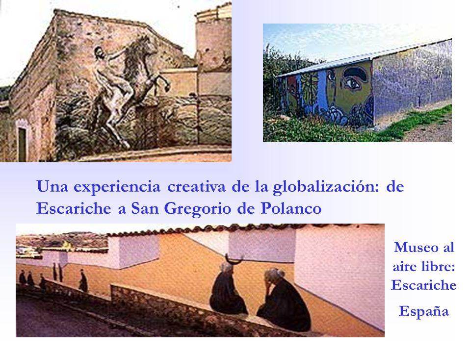 Una experiencia creativa de la globalización: de Escariche a San Gregorio de Polanco