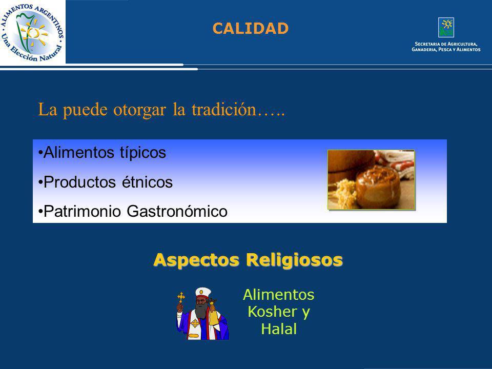 Alimentos Kosher y Halal