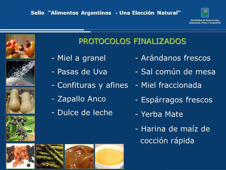 Sello Alimentos Argentinos - Una Elección Natural