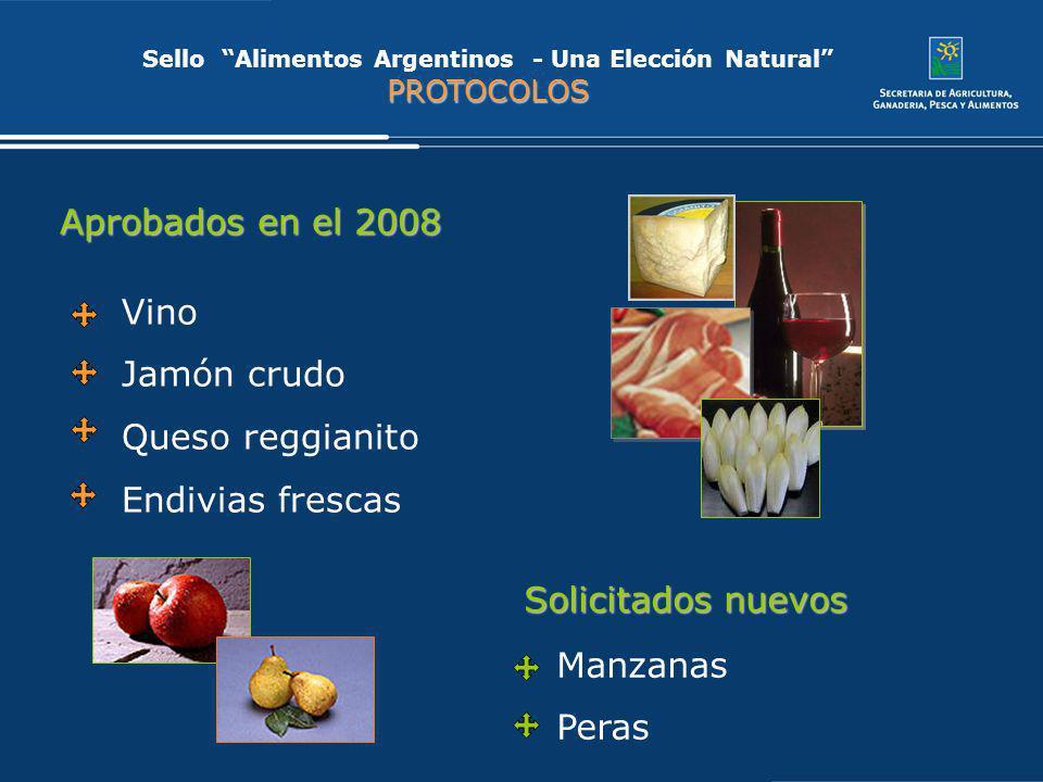 Sello Alimentos Argentinos - Una Elección Natural PROTOCOLOS