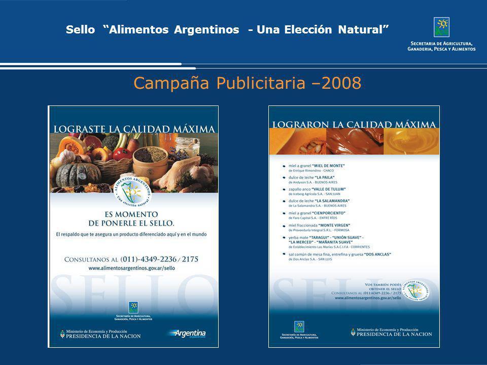 Campaña Publicitaria –2008