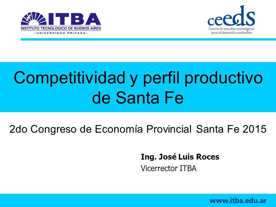 Competitividad y perfil productivo de Santa Fe
