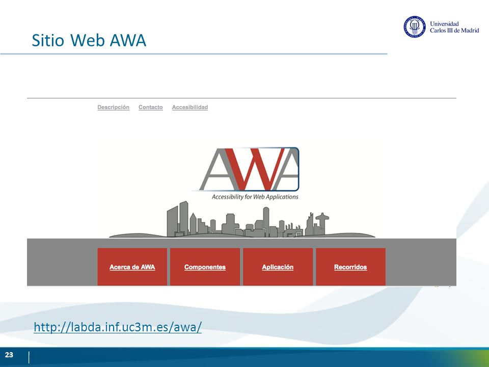 Sitio Web AWA http://labda.inf.uc3m.es/awa/