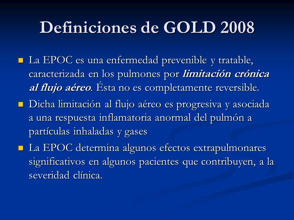 Definiciones de GOLD 2008