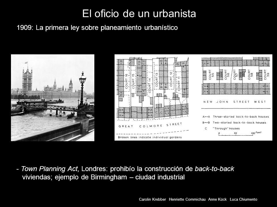 El oficio de un urbanista